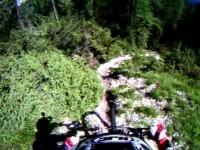 Downhill a Cortina d'Ampezzo