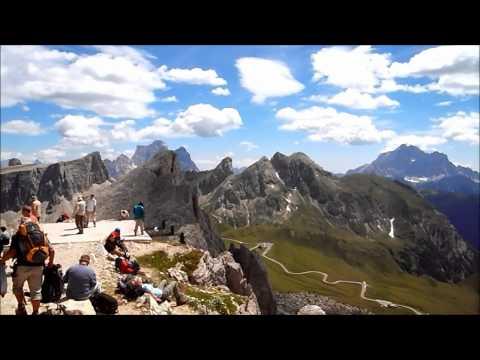 Montagne di Cortina d'Ampezzo in Estate