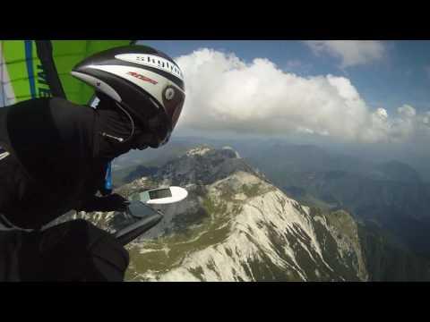 Parapendio sulla Valle dell'Isonzo