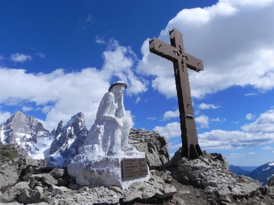 Cristo Pensante Pale di San Martino e Croce Castelaz