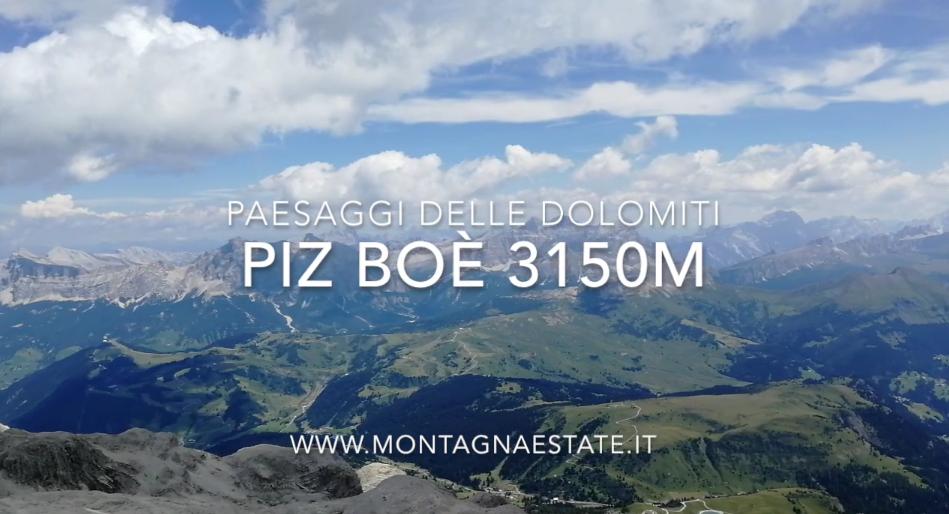 Panorama a 360° sulle Dolomiti in Time-lapse dal Piz Boè