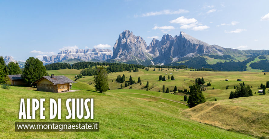 Alpe di Siusi in estate