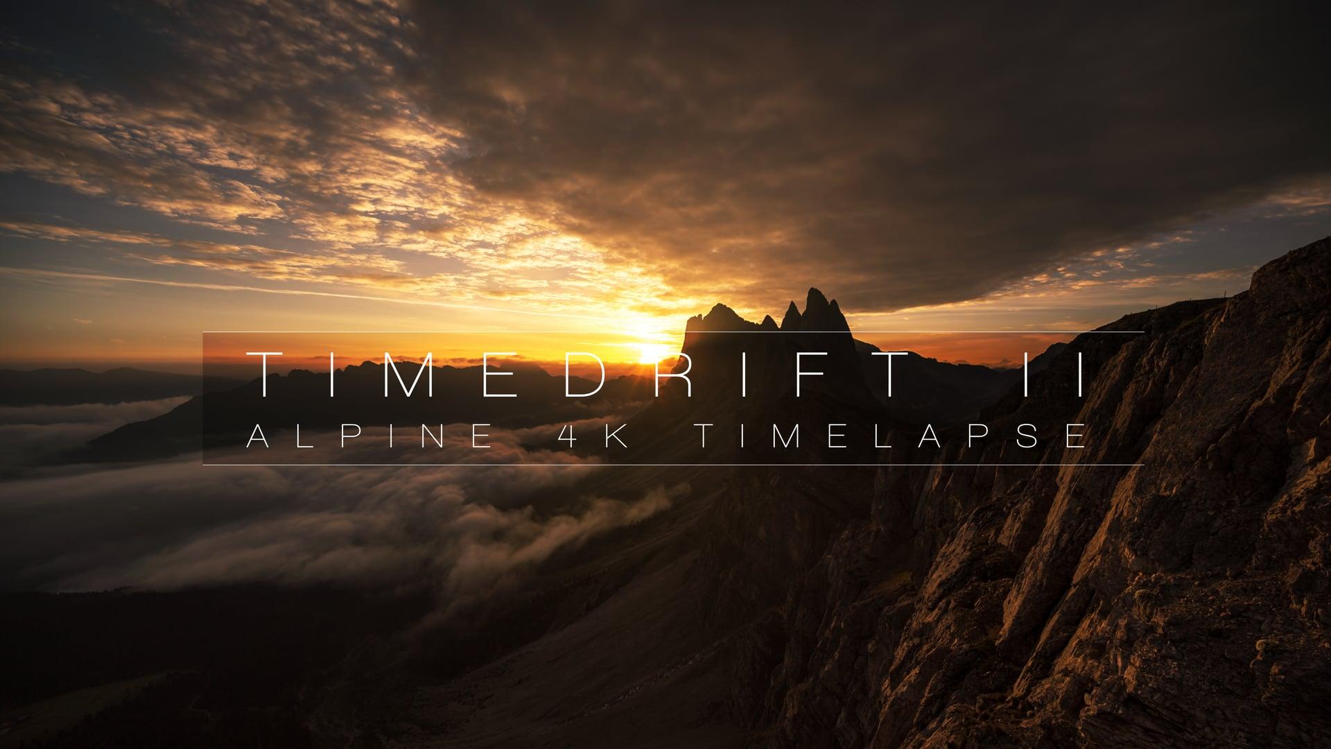 Nuvole e Tramonti sulle Dolomiti in Time Lapse