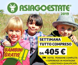 Asiago Estate 2019 Vacanze Bambini Montagna