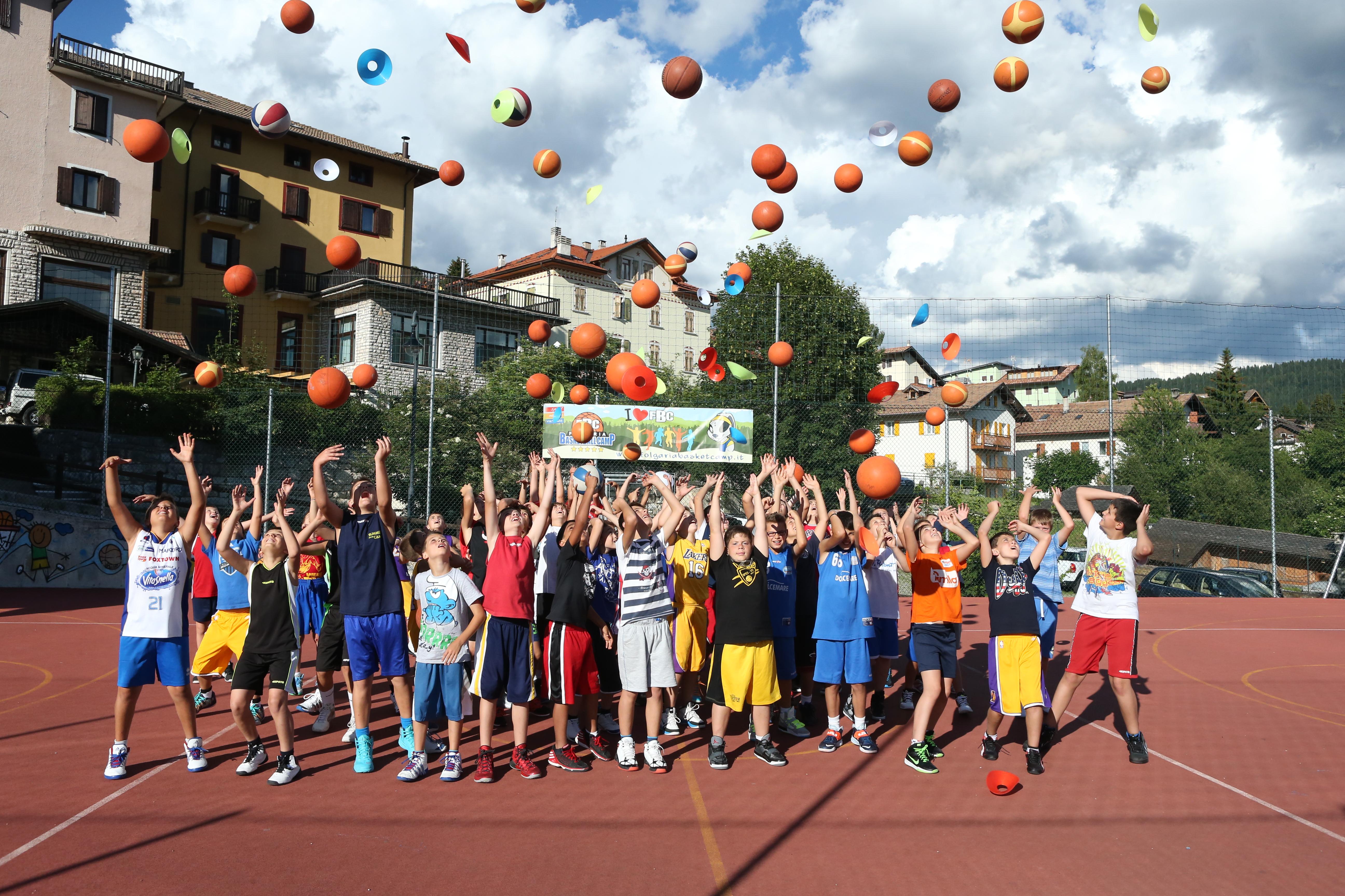 Folgaria Basket Camp 2015, il camp per ragazzi nel cuore del Trentino