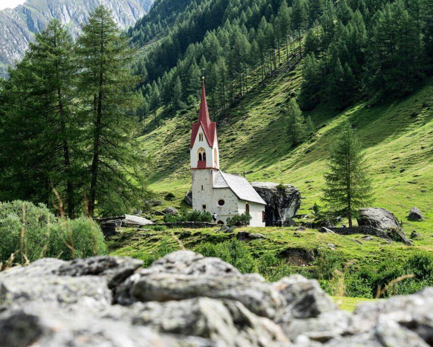 chiesetta in valle aurina