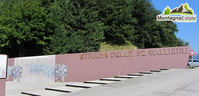 entrata gallerie Pasubio