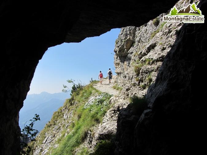 Escursione alle 52 gallerie del Monte Pasubio