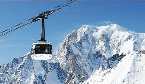 Documentario: La costruzione della nuova Funivia del Monte Bianco