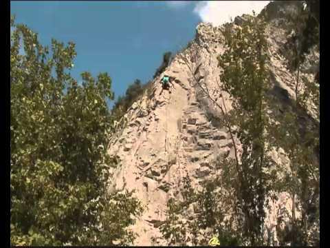 Arrampicare ad Imst in Tirolo