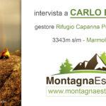 4 chiacchiere con Carlo Budel, il gestore del Rifugio più Alto delle Dolomiti