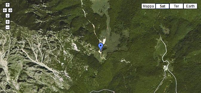 mappa gallerie pasubio