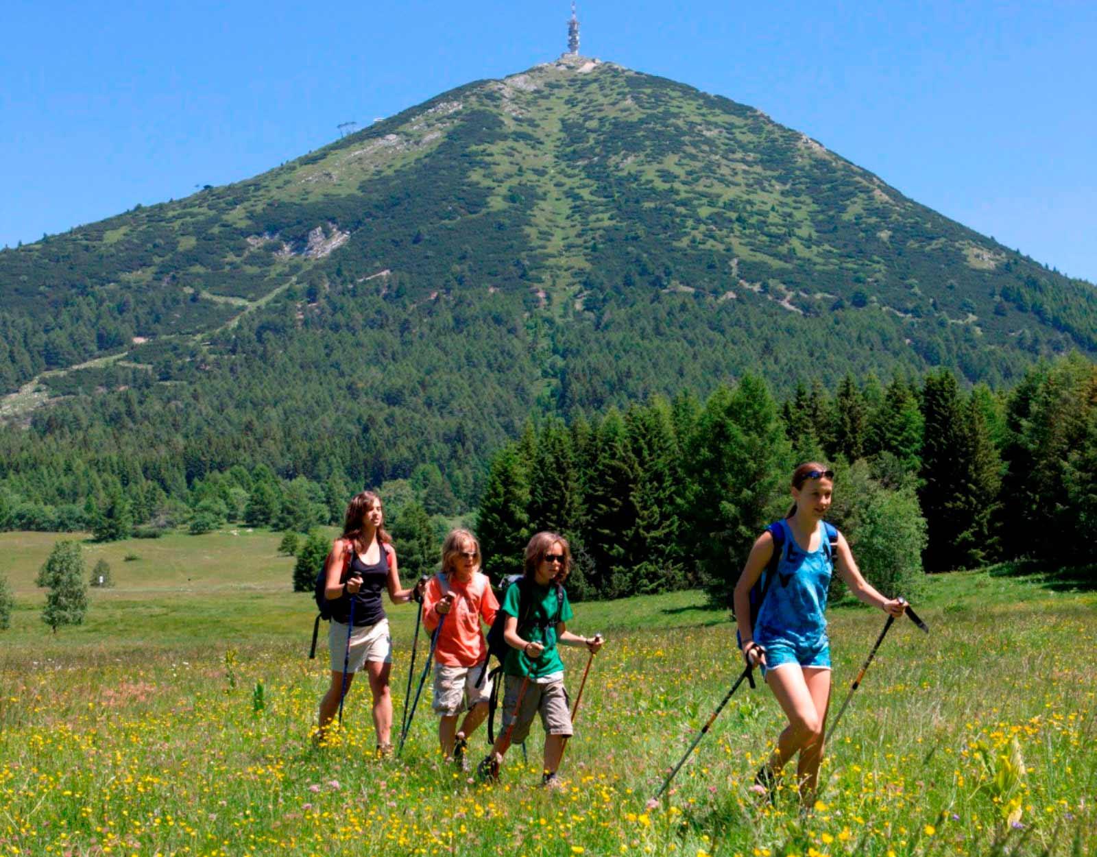 Estate sul Monte Bondone: offerta vacanza per famiglie