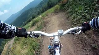 Downhill a San Giacomo di Roburent