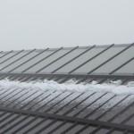 La neve in Val Gardena d'Agosto a 2500m