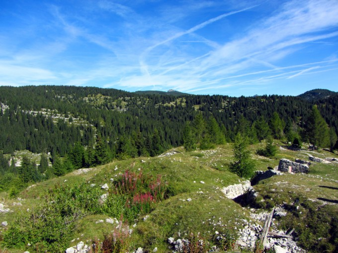 paesaggio monte zebio asiago