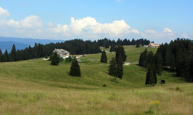 Uno sguardo in direzione Alpe Fiorentini