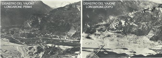 Disastro del Vajont, la sfida dell'uomo alla natura