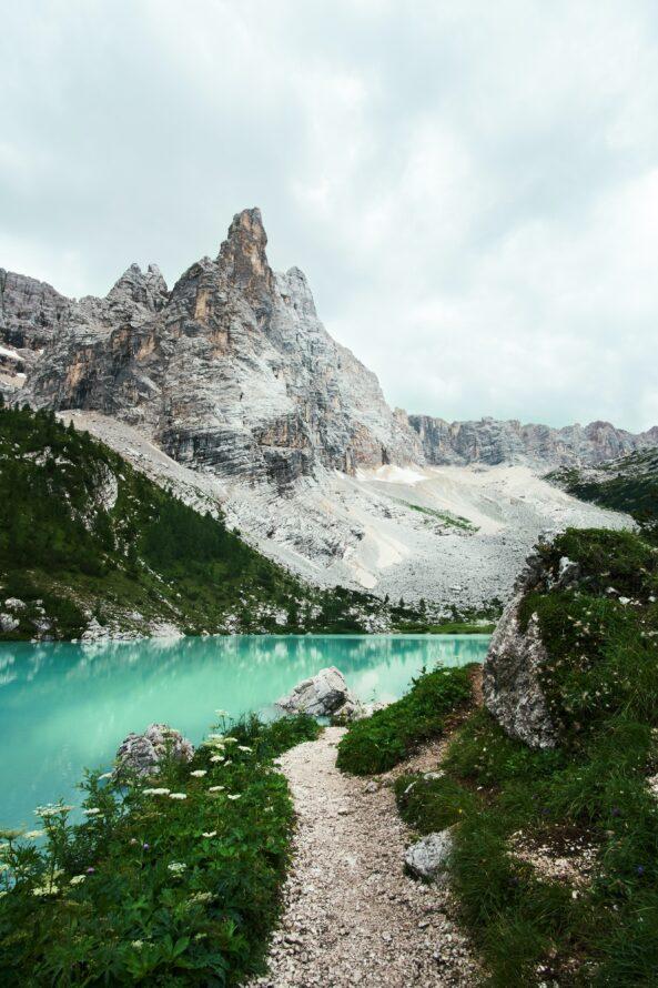 sentiero lago di sorapis