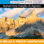 Vacanze: 3 Buoni motivi per andare in montagna a Settembre invece di agosto