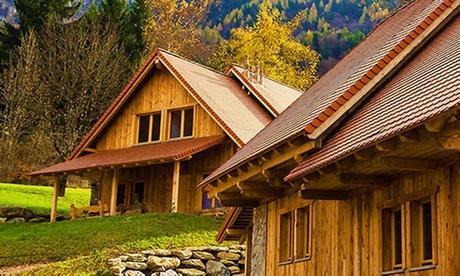 Dolomiti, Comeglians: chalet in legno fino a 4 persone presso Dolomiti Village