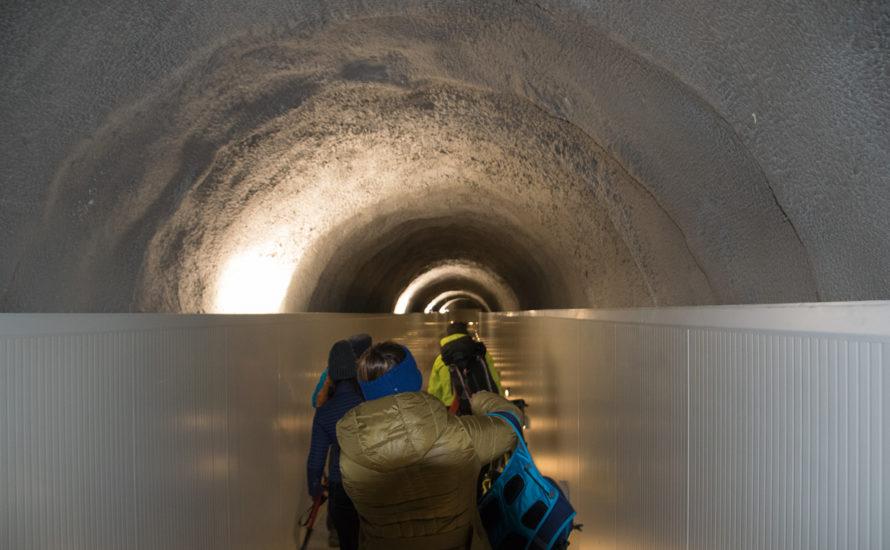 tunnel monte bianco collegamento rifugio Torino