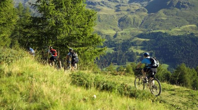 Escursioni in mountain bike Alta Valtellina