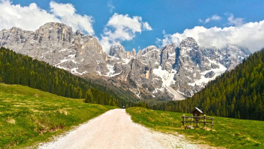 localita di montagna in estate