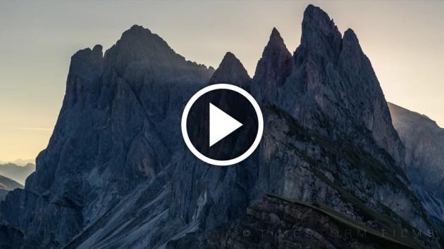 Video: La bellezza delle Alpi in Time-Lapse